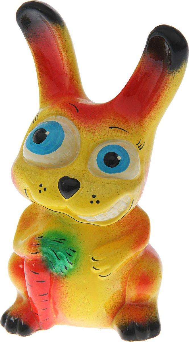 Копилка Керамика ручной работы Кролик, 16 х 17 х 30 см1473344Копилка в виде зайца поможет сберечь финансы будущим родителям, а также притянет удачу в дом молодой семьи. Это животное символизирует плодовитость, возрождение и даже магическую силу. Копилка — подарок, который можно сделать на свадьбу, её годовщину или паре, которая хочет завести ребёнка.Обращаем ваше внимание, что копилка является одноразовой.