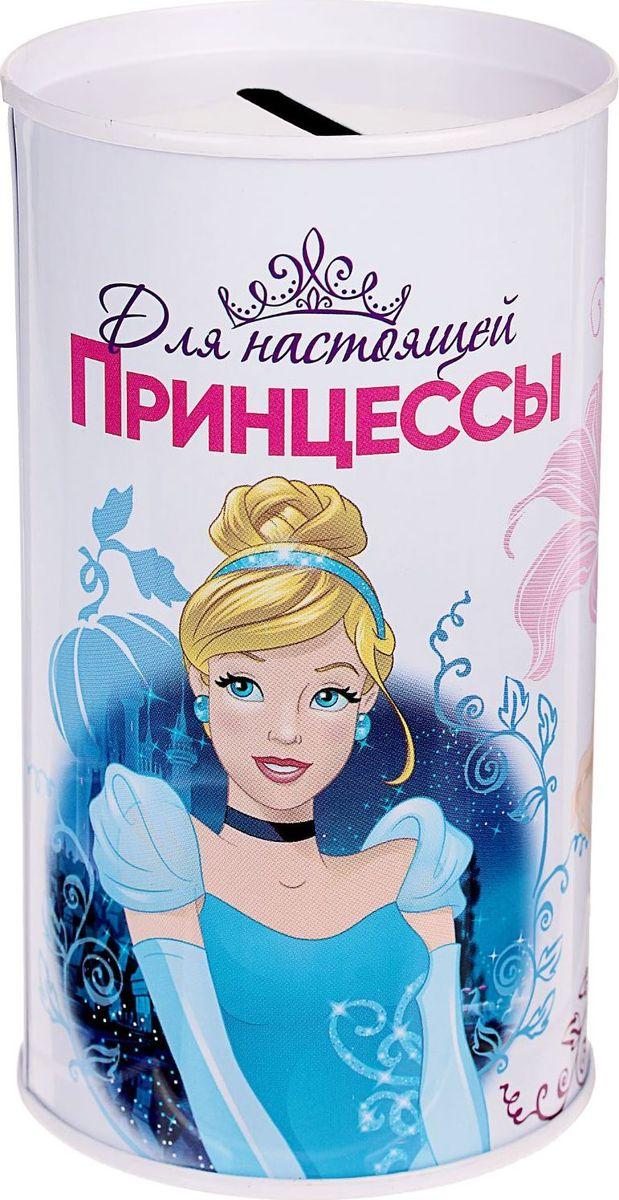Копилка Disney На исполнение мечты. Принцессы, 6,5 х 6,5 х 12 см1866959Копилки со знаменитыми персонажами обязательно понравятся ребёнку!Данное изделие изготовлено из лёгкого металла и весит 61 г. Изображение нанесено краской.Высота — 12 см, диаметр — 6,5 см.Обращаем ваше внимание, что копилка является одноразовой.
