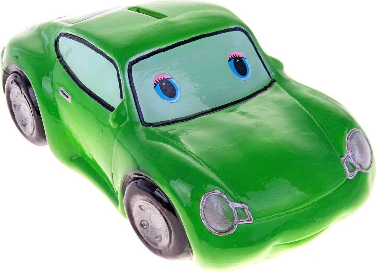 Копилка Керамика ручной работы Мультяшная машинка, цвет: зеленый, 24 х 10 х 12 см193349Откладываете деньги на новую машину?Копилка в виде автомобиля поможет с лёгкостью приумножить денежные средства, а её вид будет радовать своего обладателя и мотивировать его на покупку.Обращаем ваше внимание, что копилка является одноразовой.