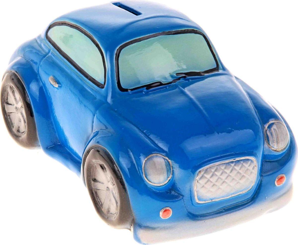 Копилка Керамика ручной работы Купер, цвет: синий, 20 х 11 х 10 см193353Откладываете деньги на новую машину?Копилка в виде автомобиля поможет с лёгкостью приумножить денежные средства, а её вид будет радовать своего обладателя и мотивировать его на покупку.Обращаем ваше внимание, что копилка является одноразовой.