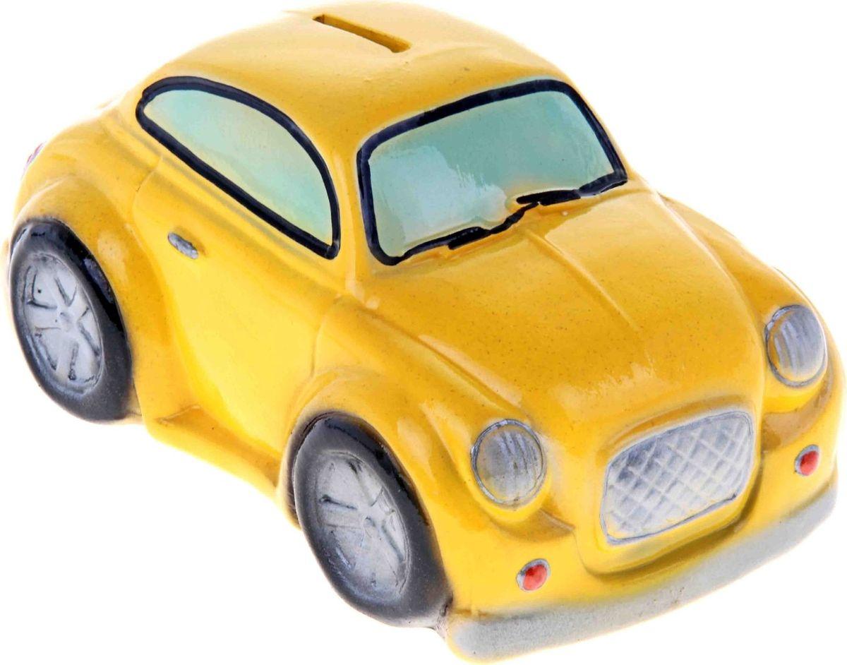 Копилка Керамика ручной работы Машина Купер, 20 х 11 х 10 см. 195780195780Откладываете деньги на новую машину?Копилка в виде автомобиля поможет с лёгкостью приумножить денежные средства, а её вид будет радовать своего обладателя и мотивировать его на покупку.Обращаем ваше внимание, что копилка является одноразовой.