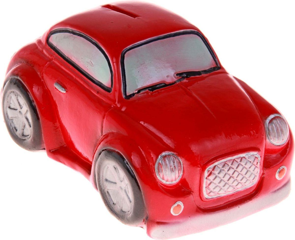 Копилка Керамика ручной работы Купер, цвет: красный, 20 х 11 х 10 см196409Откладываете деньги на новую машину?Копилка в виде автомобиля поможет с лёгкостью приумножить денежные средства, а её вид будет радовать своего обладателя и мотивировать его на покупку.Обращаем ваше внимание, что копилка является одноразовой.