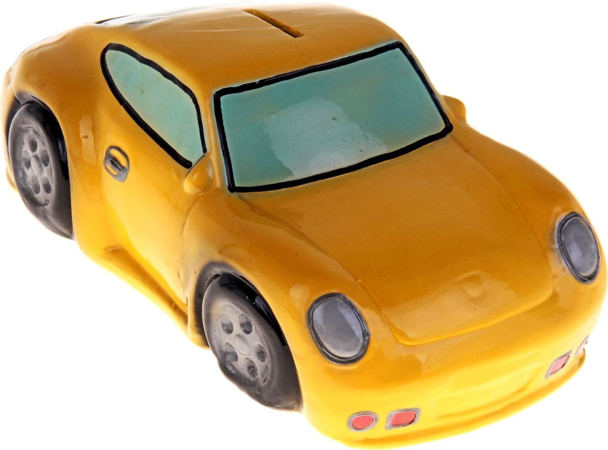 Копилка Керамика ручной работы Гоночная машина, 13 х 26 х 10 см197168Откладываете деньги на новую машину?Копилка в виде автомобиля поможет с лёгкостью приумножить денежные средства, а её вид будет радовать своего обладателя и мотивировать его на покупку.Обращаем ваше внимание, что копилка является одноразовой.