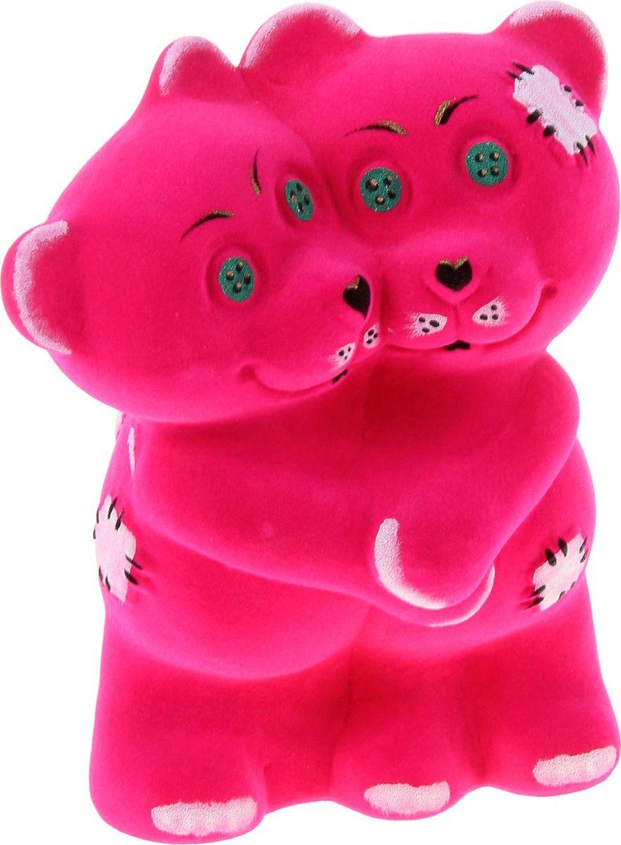 Копилка Керамика ручной работы Обнимающиеся мишки, 10 х 19 х 22 см323294Оригинальная копилка, выполненная в виде очаровательного мишки, станет необычным украшением интерьера или полезным подарком для любимого человека.Ощущайте её пополнение, периодически встряхивая и слушая звон монет.