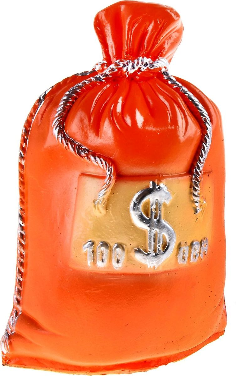 Копилка Мешок: 100 тысяч долларов, 14 х 22 х 32 см332523Копилка — универсальный вариант подарка любому человеку, ведь каждый из нас мечтает о какой-то дорогостоящей вещи и откладывает или собирается откладывать деньги на её приобретение. Вместительная копилка станет прекрасным хранителем сбережений и украшением интерьера. Она выглядит так ярко и эффектно, что проходя мимо, обязательно захочется забросить пару монет.