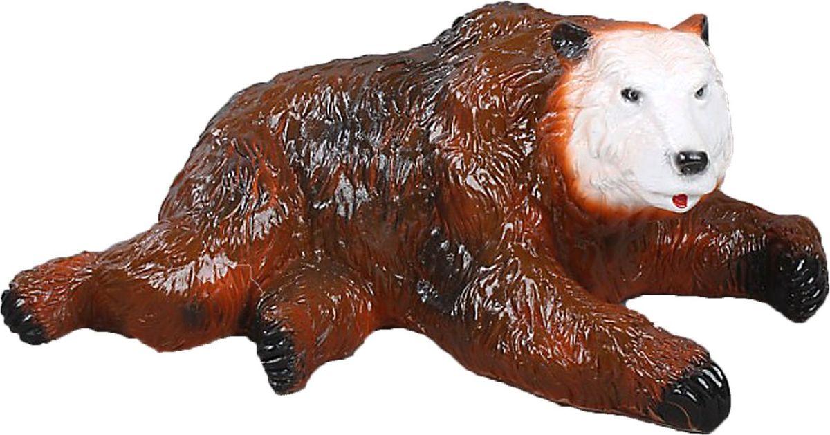 Копилка Лежащий медведь, 15 х 34 х 20 см435636Копилка — универсальный вариант подарка любому человеку, ведь каждый из нас мечтает о какой-то дорогостоящей вещи и откладывает или собирается откладывать деньги на её приобретение. Вместительная копилка станет прекрасным хранителем сбережений и украшением интерьера. Она выглядит так ярко и эффектно, что проходя мимо, обязательно захочется забросить пару монет.