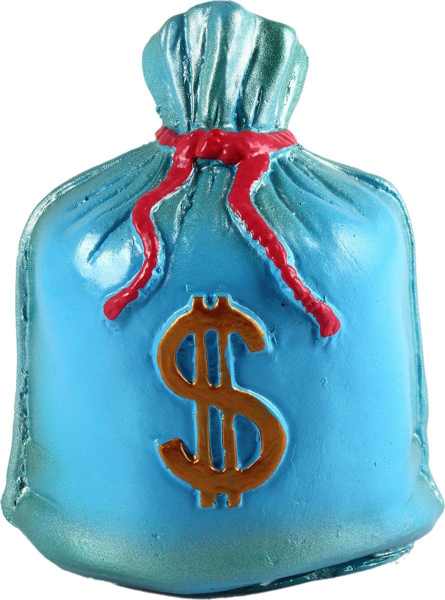 Копилка Мешок: Доллар, 21 х 14 х 26 см692425Копилка — универсальный вариант подарка любому человеку, ведь каждый из нас мечтает о какой-то дорогостоящей вещи и откладывает или собирается откладывать деньги на её приобретение. Вместительная копилка станет прекрасным хранителем сбережений и украшением интерьера. Она выглядит так ярко и эффектно, что проходя мимо, обязательно захочется забросить пару монет.