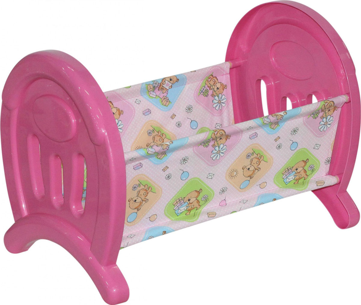 Полесье Кроватка для кукол цвет розовый 55996 полесье набор для песочницы 469