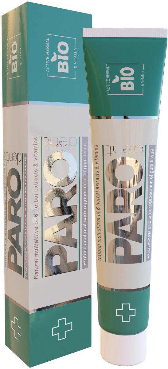 Paro dent BiO melissa Зубная паста, с витамином Е и пантенолом, регенерирующая BIO, с 7 лет, 75 мл