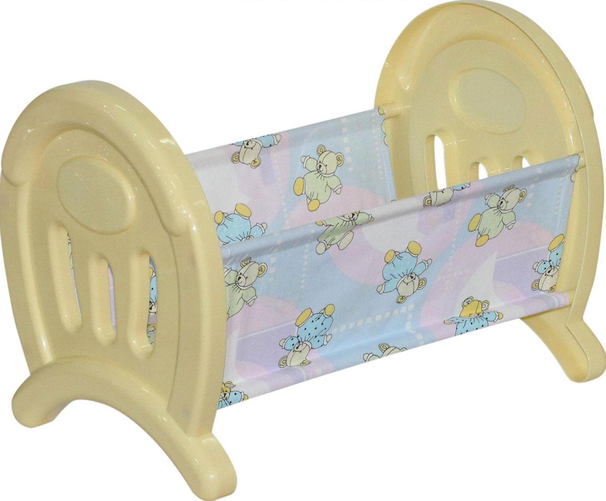 Полесье Кроватка для кукол цвет желтый полесье набор для песочницы 469