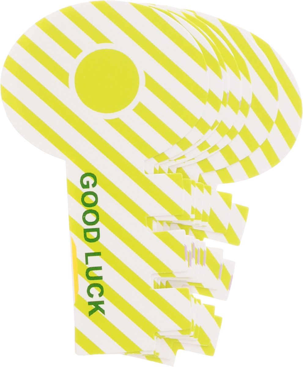 Карамба Закладки Ключ цвет зеленый 8 шт