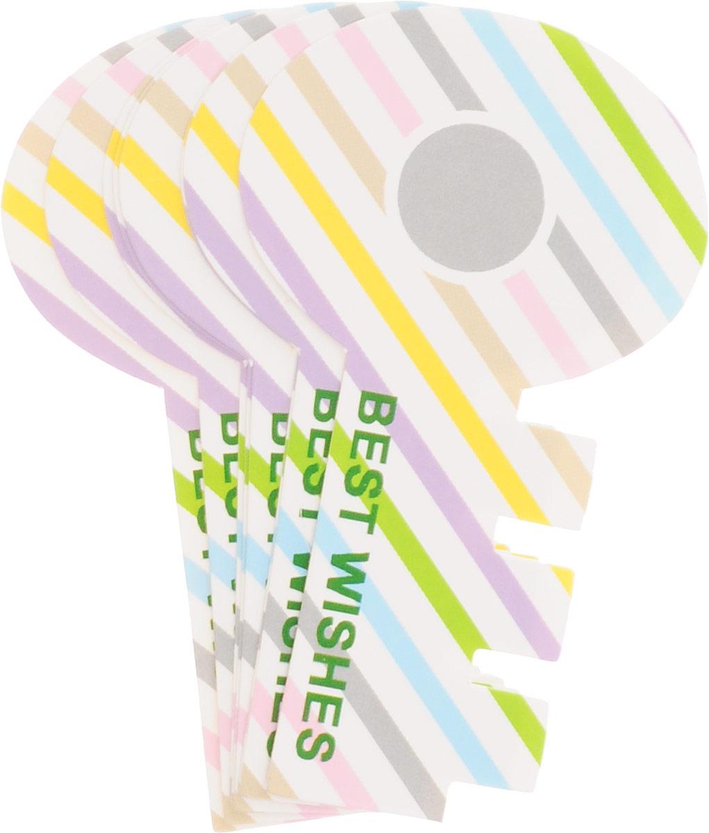 Карамба Закладки Ключ цвет мультиколор 8 шт4028_косая линия, мультикорорНабор Карамба Ключ включает 8 бумажных закладок, выполненных в виде ключа. Оригинальные закладки позволят выделить нужную страницу.