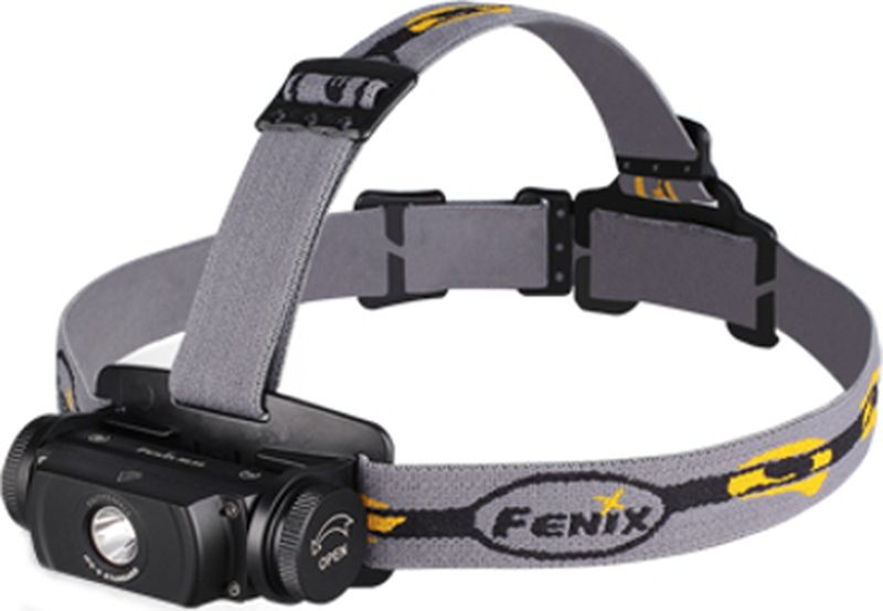 Фонарь налобный Fenix HL55 U2, цвет: черный фонарь налобный fenix hl50
