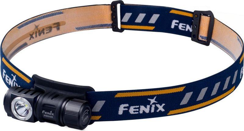 Фонарь налобный Fenix HM50R, цвет: черныйHM50RОписание Fenix HM50R XM-L2 U2:Модель HM50R сделана налобной, а кроме того, в этом фонаре учтены все возможные моменты, касающиеся его долговечности, надежности и защищенности от внешнего воздействия. Буквально все детали — высококачественные и очень долговечные. Так, здесь установлен диод с запасом работоспособности 50 тысяч часов — новая модель XM-L2 U2от известного бренда Cree. Такой диод обеспечивает фонарю яркость до 500 люмен и позволяет ему работать в четырех режимах. Каждый из режимов представляет собою определенный уровень яркости, тактических вариантов освещения для данной модели не предусмотрено. При максимально доступной яркости, луч фонаря будет освещать территорию радиусом до 80 метров. Минимальная яркость (4 люмена) позволит освещать пространство на 6 метров вдаль. Промежуточные режимы дают 130 люмен света с дистанцией освещения 42 метра и 30 люмен с дистанцией 20 метров. Так что HM50R будет удобно использовать и во время движения на открытых участках территории, и во время отдыха в палатке.Что касается питания фонаря, для модели HM50R потребуется всего один компактный аккумулятор размера 16340. В комплект производители включили фирменный литий-ионный элемент питания с емкостью 700 мАч. В качестве запасного, можно выбрать и любой другой аккумулятор с подобными характеристиками, а также батарейки CR123A. При условии установки аккумулятора из комплекта, фонарь сможет светить до 90 часов, а энергии одной литиевой батарейки хватит на 128 часов освещения при яркости 4 люмена.Пополнить заряд аккумулятора можно даже не вынимая его из фонаря. Для этого в наборе имеется кабель с разъемами USB и микро-USB. Фонарь можно зарядить от любого совместимого устройства. Кроме того, данная модель и сама может выступать в роли источника энергии, например, для телефона. В комплекте есть и переходник под сеть 220В.Производители позаботились о том, чтобы использовать данный фонарь было удобно буквально в любых условиях. Он очень 