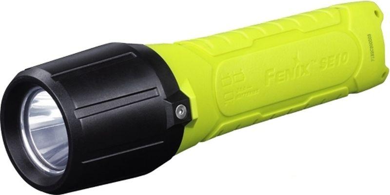 Фонарь ручной Fenix SE10, цвет: зеленый.SE10Фонарь Fenix SE10 - это современная модель с высоким уровнем изолированности корпуса, которая предназначается для дополнительного освещения в условиях повышенной взрывоопасности и легкого воспламенения. Такие условия характерны для химических лабораторий, нефтегазодобывающих платформ и предприятий по переработке нефтепродуктов.В отличие от других фонарей бренда, корпус данной модели изготавливается из антистатического пластика и сделан полностью изолированным. Даже для установки в него батареек, придется воспользоваться дополнительным шестигранным ключом. Этот аксессуар входит в стандартную комплектацию и его не придется докупать отдельно. Естественно, пыле- и влагоизоляция оболочки фонаря также находится на высоком уровне - IPX8.Fenix SE10 работает на трех батарейках АА. Изначально они также входят в комплект, но со временем потребуется использовать новые элементы питания. Это должны быть батарейки с напряжением 1,5 В.Что касается оптического узла, для данного фонаря используются традиционно высококачественные светодиоды Cree, а именно - модель XP-E2 R3. Фонарь с таким диодом будет светить не менее, чем 50 тысяч часов. Яркость света в единственном поддерживаемом фонарем режиме составляет 100 люмен. Луч может освещать различные объекты на расстоянии до 160 метров от фонаря. Включение света возможно в обычном порядке и тактическом, когда фонарь будет светить только до тех пор, пока пользователь держит кнопку нажатой. В первом случае кнопку включения нужно нажать до упора, а во втором - прижать ее до половины.Удобству использования данной модели способствует также малый вес фонаря. Без учета веса батареек, он составляет 164 грамма.Особенности:фонарь взрывозащищенного класса;установлен новый диод Cree XP-E2 R3;яркость света составляет 100 люмен;фонарь поддерживает один уровень яркости;дальность освещения равна 160 метров;для работы требуется 3 батарейки АА;фонарь управляется одной торцевой кнопкой;для корпуса используется пла