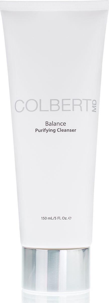 Colbert MD Очищающий гель для умывания Balance, 150 млCMD0073Освежает кожу, имеет небольшую концентрацию антивозрастных компонентов. Оставляет кожу чистой, мягкой и гладкой, подготовленной к ритуалу ухода Colbert MD. Мягко удаляет излишки жира и поверхностные загрязнения, насыщает кожу ежедневной дозой антивозрастных активов.