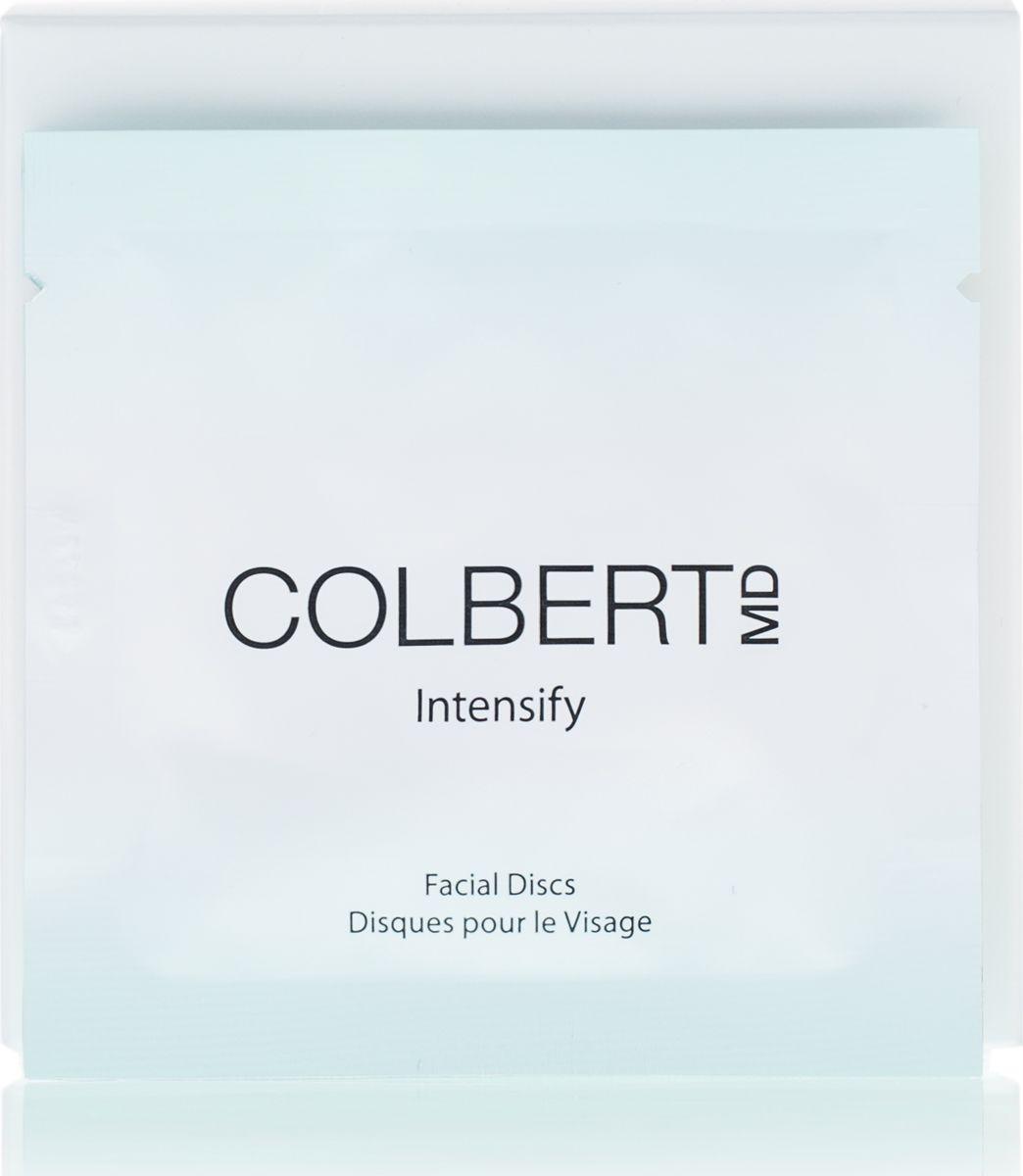 Colbert MD Диски косметические для лица Intensify, 20 штCMD0232Придают коже сияние благодаря сочетанию химического и механического пилинга, создают этапа эффект микродермобразии из Триады ухода. Моментально делают кожу яркой и сияющей. Диски способствуют естественному процессу восстановления кожи, удаляя отмершие клетки и очищая поры, что позволяет вывести на поверхность свежеобразованные здоровые и сияющие клетки кожи (механическим путем)