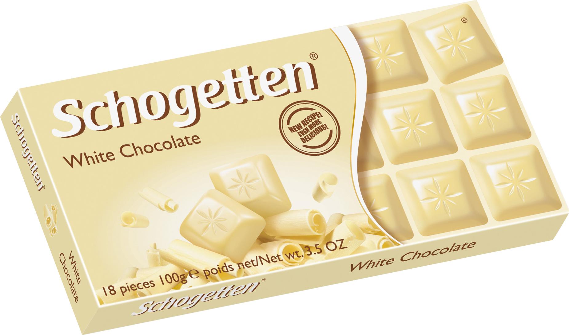 Schogetten White белый шоколад, 100 г