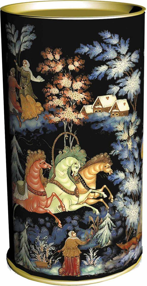 Сладкий новогодний подарок Палех, в тубе, 800 г1571Сладкие новогодние подарки в тубах являются необычным выбором. Туба как вид упаковки является комбинированным типом, т. к. состоит из картонно-навивного корпуса и жестяных оснований. Такое соединение создает очень прочную и красочную упаковку для