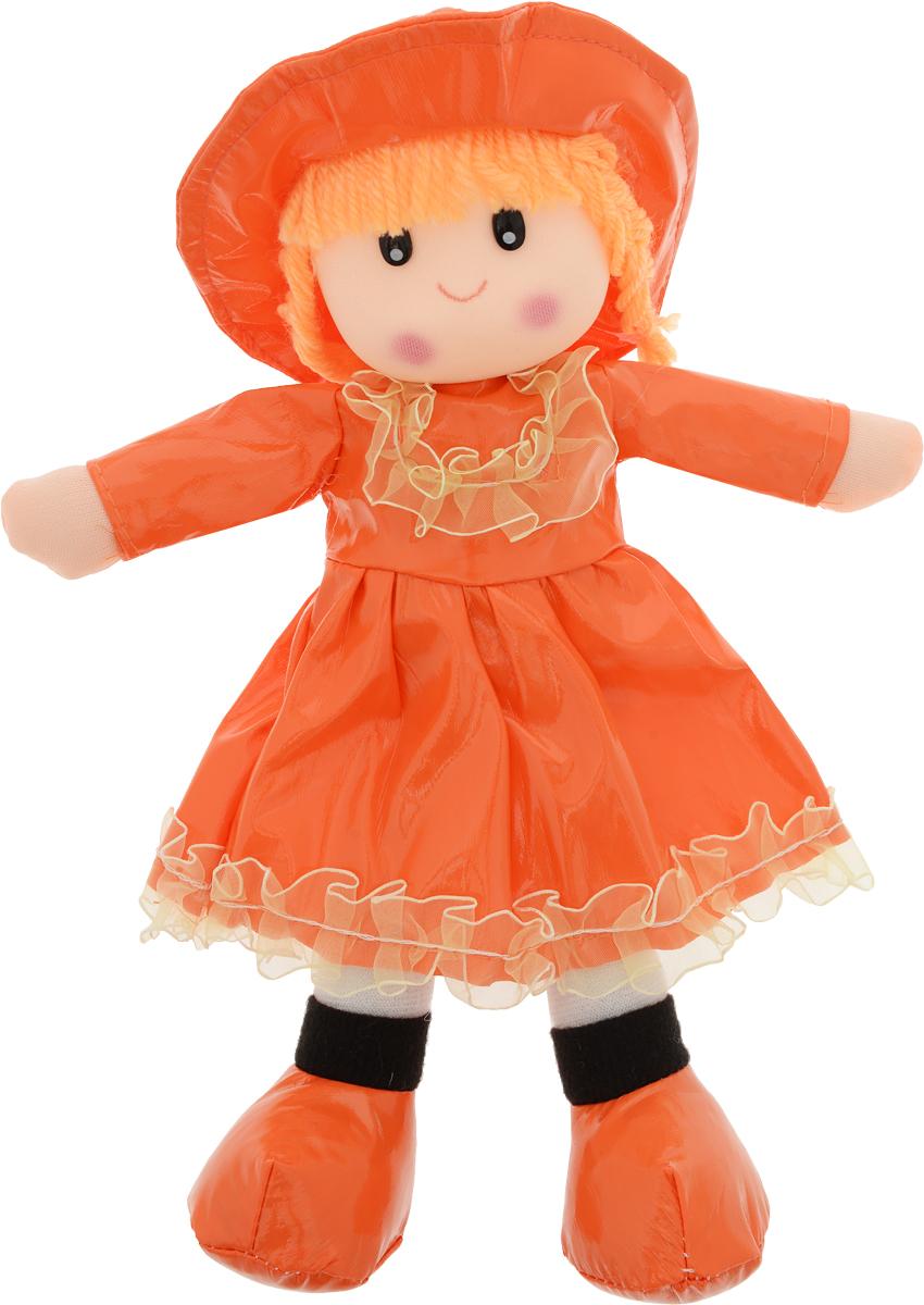 Sima-land Мягкая кукла в платье с бахромой цвет одежды оранжевый