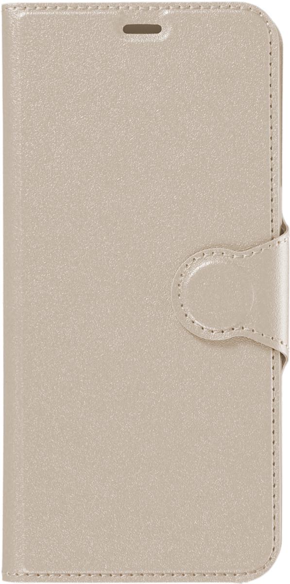 Red Line Book Type чехол для Samsung Galaxy S8, Gold аксессуар чехол htc desire 728 red line book type gold