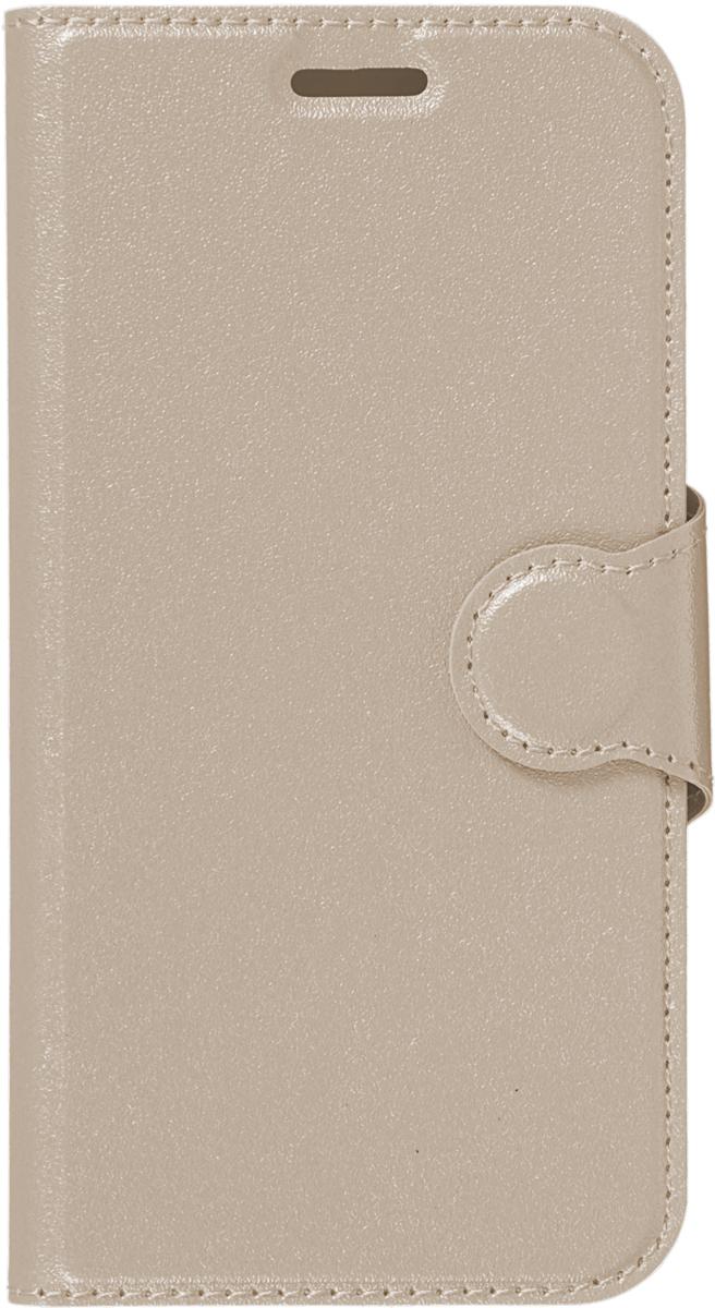 Red Line Book Type чехол для Samsung Galaxy A3 (2017), Gold аксессуар чехол samsung galaxy a3 2017 red line book type gold