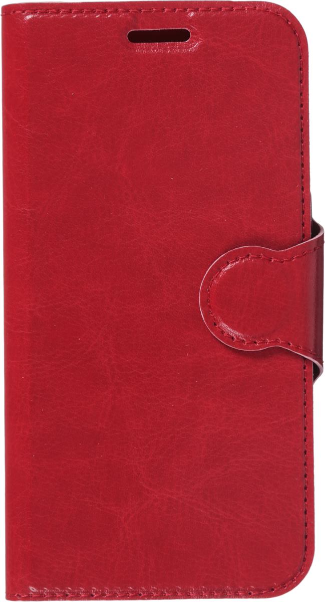 все цены на Red Line Book Type чехол для Samsung Galaxy A3 (2017), Red онлайн