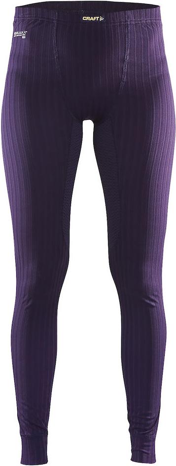 Термобелье брюки женские Craft Active Extreme, цвет: фиолетовый. 1904493/2751. Размер M (46)1904493/2751Женские брюки выполнены из тонкого, легкого и эластичного материала, где с помощью полых волокон удерживается теплый воздух и обеспечивается теплоизоляция тела.Дополнительные волокна Coolmax-Air, соприкасаясь с кожей, способствую отведению влаги и предотвращают перегрев.Вставки из сетки расположены в наиболее горячих зонах тела.Плоские швы расположены так, чтобы повторять движения тела.