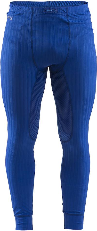 Термобелье брюки мужские Craft Active Extreme, цвет: синий. 1904497/2386. Размер L (50)1904497/2386Тонкий, легкий и эластичный материал с помощью полых волокон удерживает теплый воздух, обеспечивая теплоизоляцию тела.Дополнительные волокна Coolmax-Air, соприкасаясь с кожей, способствуют отведению влаги и предотвращают перегрев.Вставки из сетки расположены в наиболее горячих зонах тела.Плоские швы расположены так, чтобы повторять движения тела.