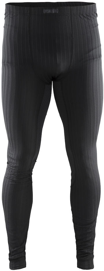Термобелье брюки мужские Craft Active Extreme, цвет: черный. 1904497/9999. Размер XL (52)1904497/9999Тонкий, легкий и эластичный материал с помощью полых волокон удерживает теплый воздух, обеспечивая теплоизоляцию тела.Дополнительные волокна Coolmax-Air, соприкасаясь с кожей, способствуют отведению влаги и предотвращают перегрев.Вставки из сетки расположены в наиболее горячих зонах тела.Плоские швы расположены так, чтобы повторять движения тела.
