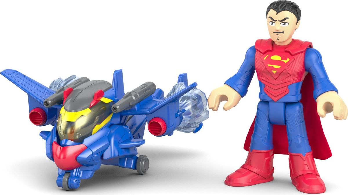 Zakazat.ru Imaginext Фигурка DC Super Friends Боевые трансформеры Superman