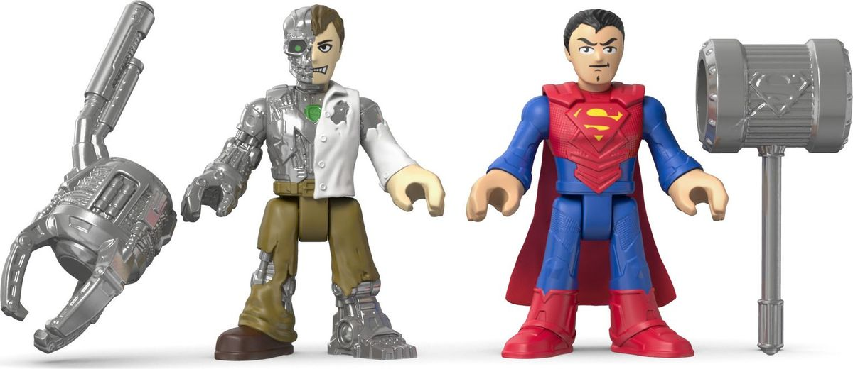 Imaginext Игровой набор DC Super Friends Superman & Metallo