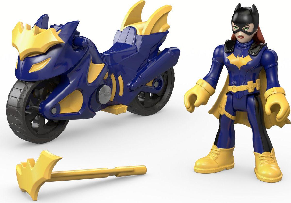 Imaginext Игровой набор DC Super Friends Batgirl & Cycle