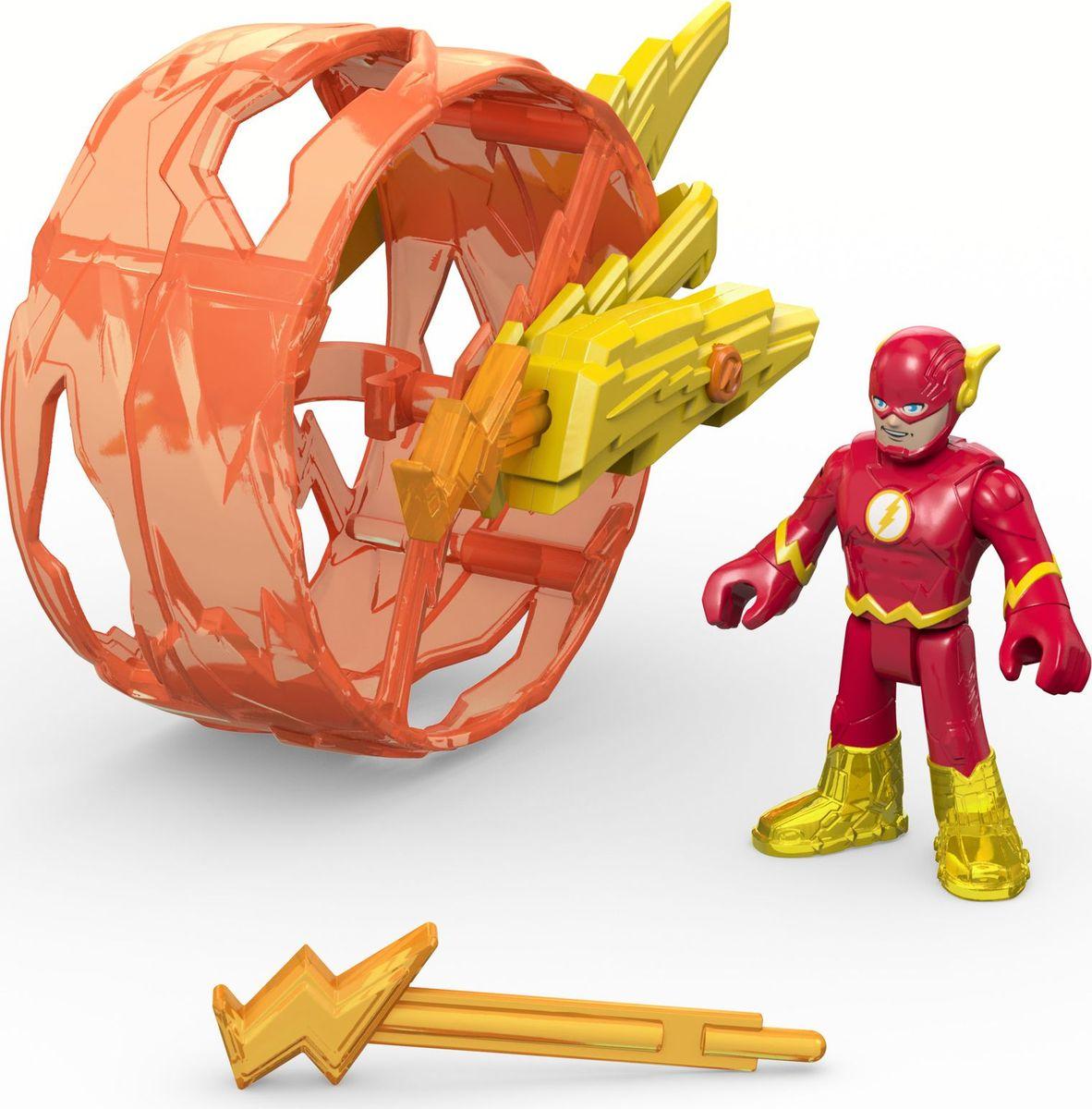 Imaginext Игровой набор DC Super Friends Flash & Cycle