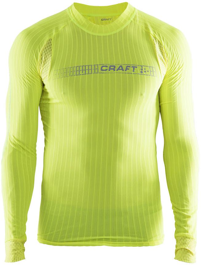 Термобелье кофта мужская Craft Active Extreme, цвет: желтый. 1905081/2851. Размер M (48)1905081/2851
