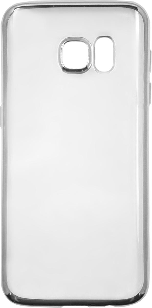 Red Line iBox Blaze чехол для Samsung Galaxy S7 Edge, SilverУТ000009624Практичный и тонкий силиконовый чехол Red Line iBox Blaze для Samsung Galaxy S7 Edge с эффектом металлических граней защищает телефон от царапин, ударов и других повреждений. Чехол изготовлен из высококачественного материала, плотно облегает смартфон и имеет все необходимые технологические отверстия, соответствующие модели телефона.Силиконовый чехолRed Line iBox Blaze долгое время сохраняет свою первоначальную форму и не растягивается на смартфоне.