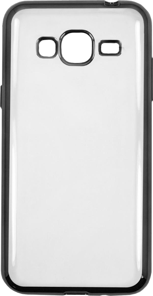 Red Line iBox Blaze чехол для Samsung Galaxy J3 (2016), BackУТ000009704Практичный и тонкий силиконовый чехол Red Line iBox Blaze для Samsung Galaxy J3 (2016) с эффектом металлических граней защищает телефон от царапин, ударов и других повреждений. Чехол изготовлен из высококачественного материала, плотно облегает смартфон и имеет все необходимые технологические отверстия, соответствующие модели телефона.Силиконовый чехолRed Line iBox Blaze долгое время сохраняет свою первоначальную форму и не растягивается на смартфоне.