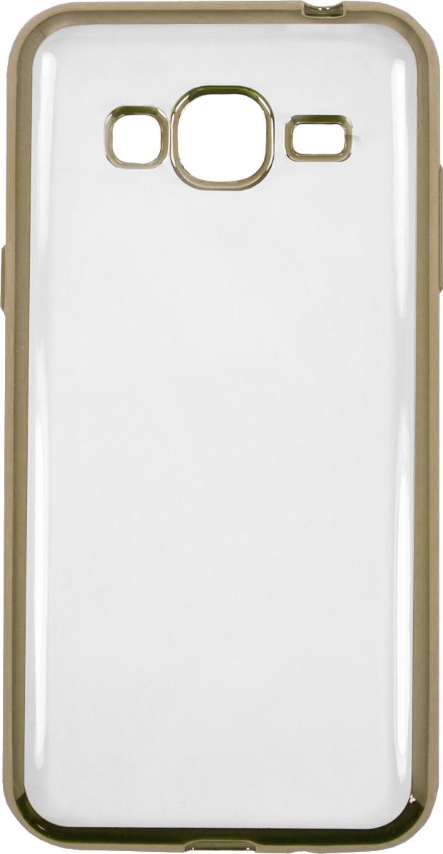 Red Line iBox Blaze чехол для Samsung Galaxy J3 (2016), GoldУТ000009701Практичный и тонкий силиконовый чехол Red Line iBox Blaze для Samsung Galaxy J3 (2016) с эффектом металлических граней защищает телефон от царапин, ударов и других повреждений. Чехол изготовлен из высококачественного материала, плотно облегает смартфон и имеет все необходимые технологические отверстия, соответствующие модели телефона.Силиконовый чехолRed Line iBox Blaze долгое время сохраняет свою первоначальную форму и не растягивается на смартфоне.
