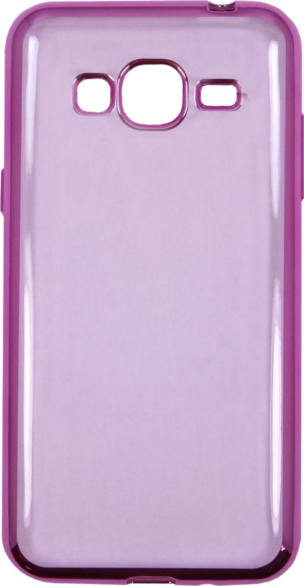 Red Line iBox Blaze чехол для Samsung Galaxy J3 (2016), PinkУТ000009702Практичный и тонкий силиконовый чехол Red Line iBox Blaze для Samsung Galaxy J3 (2016) с эффектом металлических граней защищает телефон от царапин, ударов и других повреждений. Чехол изготовлен из высококачественного материала, плотно облегает смартфон и имеет все необходимые технологические отверстия, соответствующие модели телефона.Силиконовый чехолRed Line iBox Blaze долгое время сохраняет свою первоначальную форму и не растягивается на смартфоне.