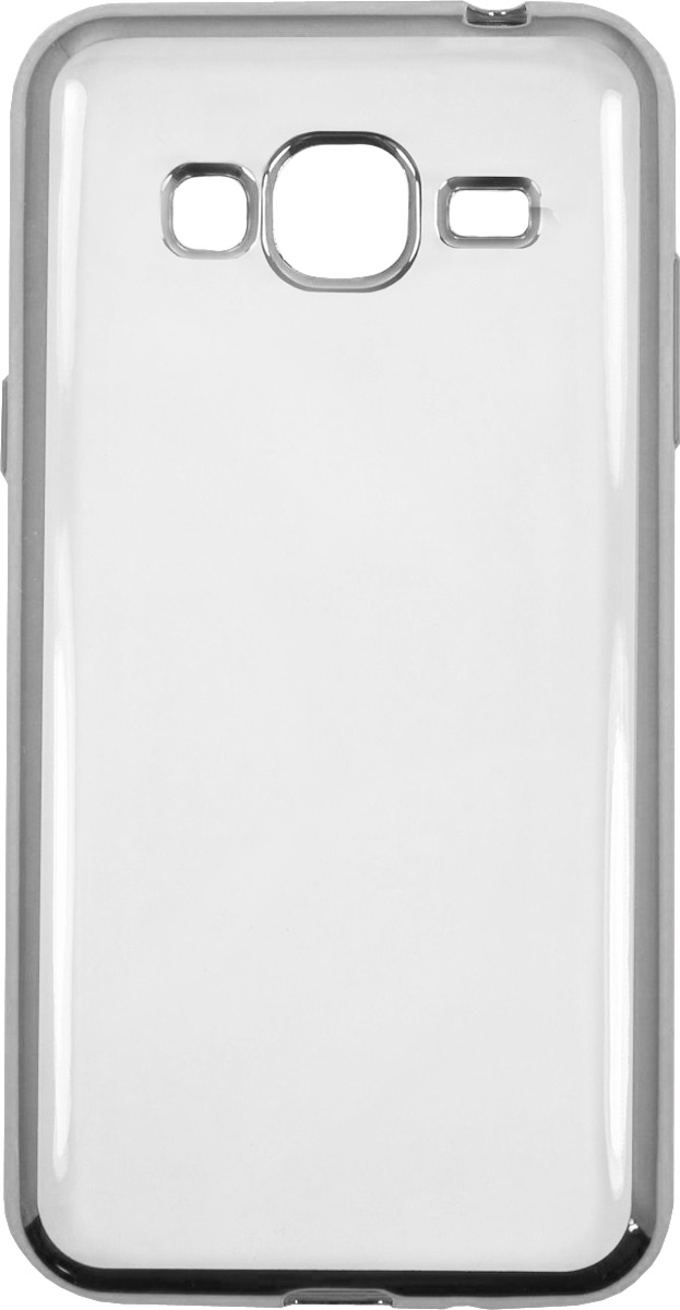 Red Line iBox Blaze чехол для Samsung Galaxy J3 (2016), Silver клип кейс ibox blaze для samsung galaxy j3 2016 черный