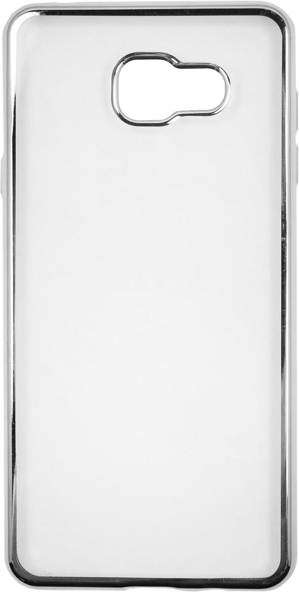 Red Line iBox Blaze чехол для Samsung Galaxy A7 (2016), SilverУТ000009692Практичный и тонкий силиконовый чехол Red Line iBox Blaze для Samsung Galaxy A7 (2016) с эффектом металлических граней защищает телефон от царапин, ударов и других повреждений. Чехол изготовлен из высококачественного материала, плотно облегает смартфон и имеет все необходимые технологические отверстия, соответствующие модели телефона.Силиконовый чехолRed Line iBox Blaze долгое время сохраняет свою первоначальную форму и не растягивается на смартфоне.