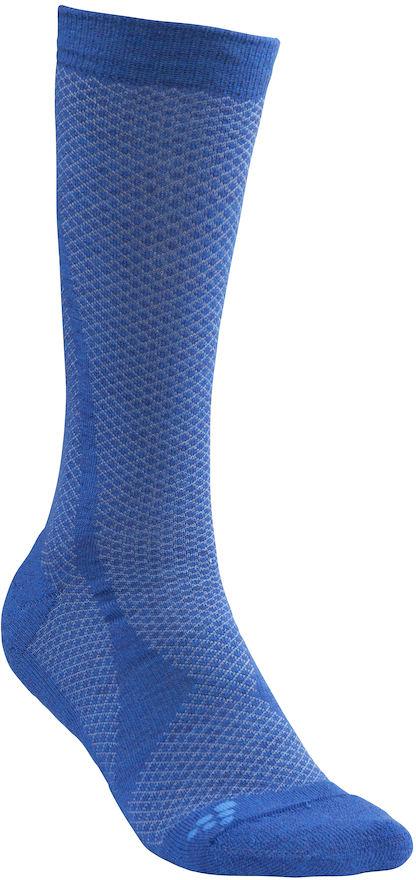 Термоноски Craft Warm, цвет: синий. 1905542/392355. Размер 43/451905542/392355Теплые носки из мериносовой шерсти с подкладками для стопы для оптимального тепла и комфорта.