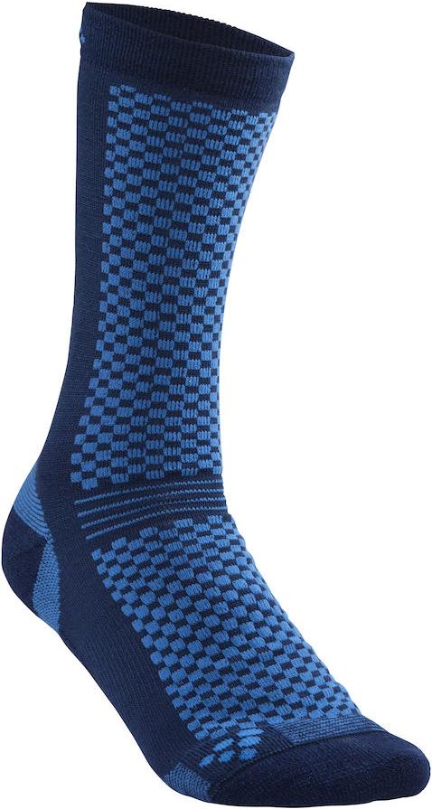 Термоноски Craft Warm, цвет: синий. 1905544/392355. Размер 34/361905544/392355Теплые носки с прекрасной функцией переноса влаги и с эластичной защитой для свода стопы.