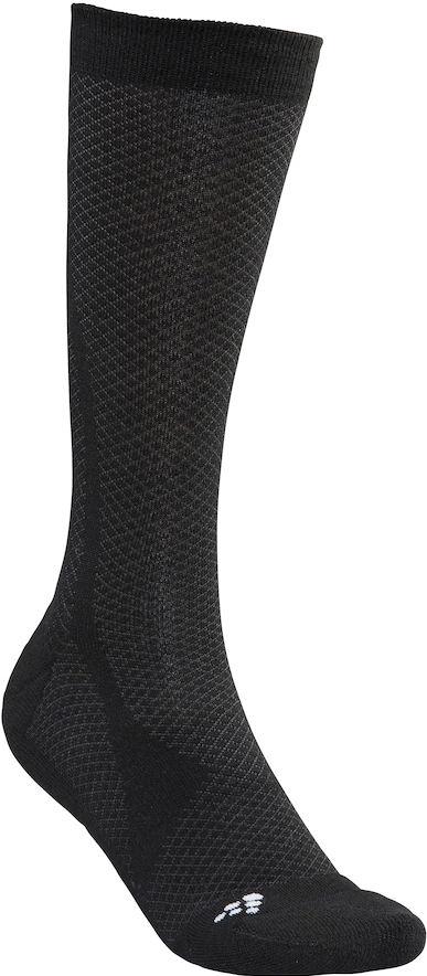 Термоноски Craft Warm, цвет: черный. 1905542/999900. Размер 40/421905542/999900Теплые носки из мериносовой шерсти с подкладками для стопы для оптимального тепла и комфорта.