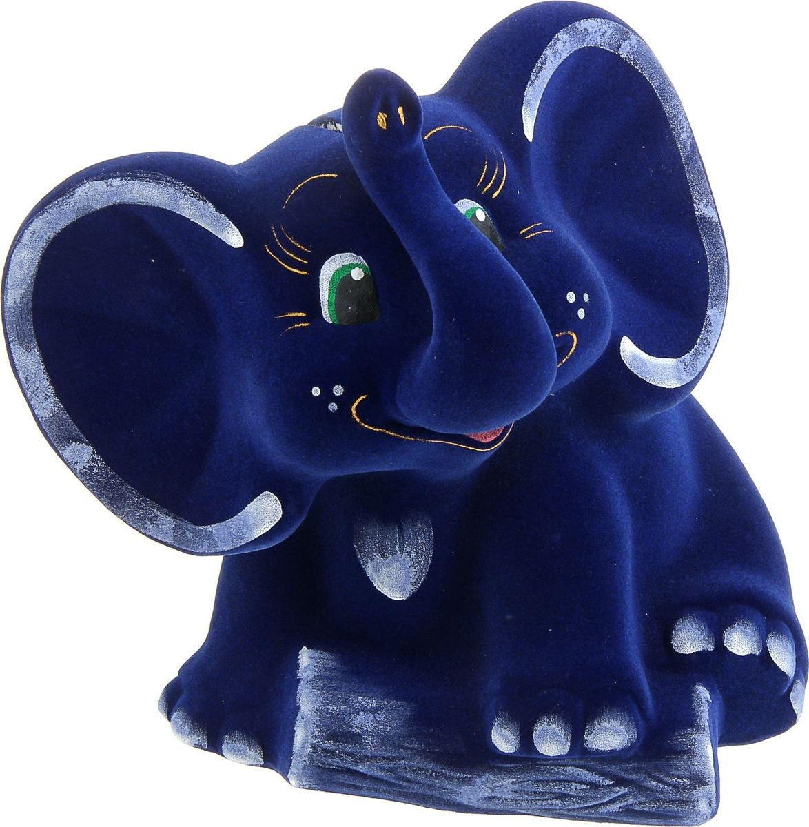 Копилка Керамика ручной работы Слон, 20 х 20 х 23 см копилка слон о бали
