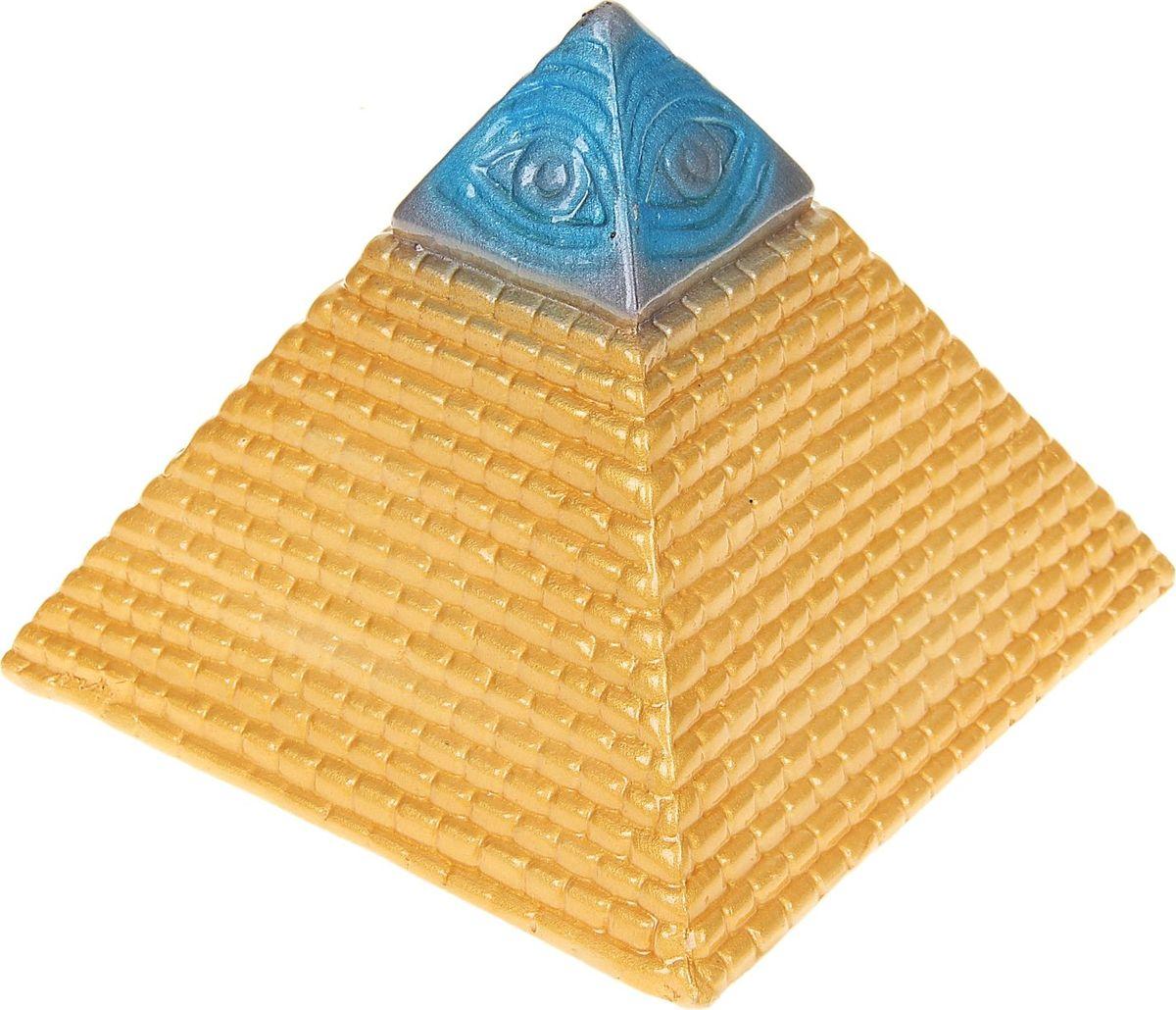 Копилка Керамика ручной работы Пирамида, 16 х 16 х 15 см1067112Каждая хозяйка знает, что в ведении домашнего хозяйства важную роль играет умение накапливать средства. Поставьте копилку на видное место, и она не только будет хранить деньги, но и станет стильным элементом интерьера.Обращаем ваше внимание, что копилка является одноразовой.