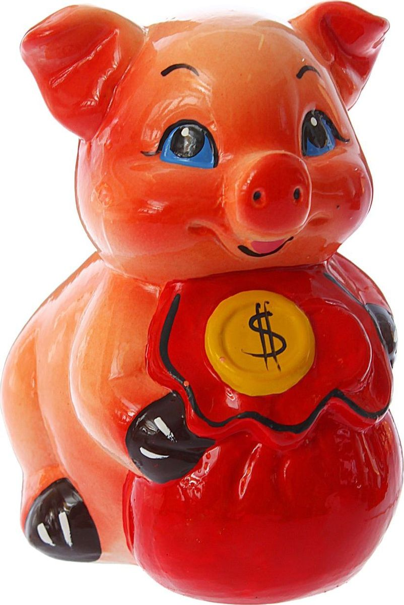 """В доме обязательно пригодится копилка """"Керамика ручной работы"""", куда каждый в семье может складывать ненужную мелочь. Когда изделие наполнится, разбейте его и вместе приобретите что-нибудь. Копилка, выполненная в виде свиньи, является одной из наиболее популярных во всём мире, ведь она символизирует рост благосостояния. А её универсальная форма позволяет вместить немало денежных средств.Обращаем ваше внимание, что копилка является одноразовой."""