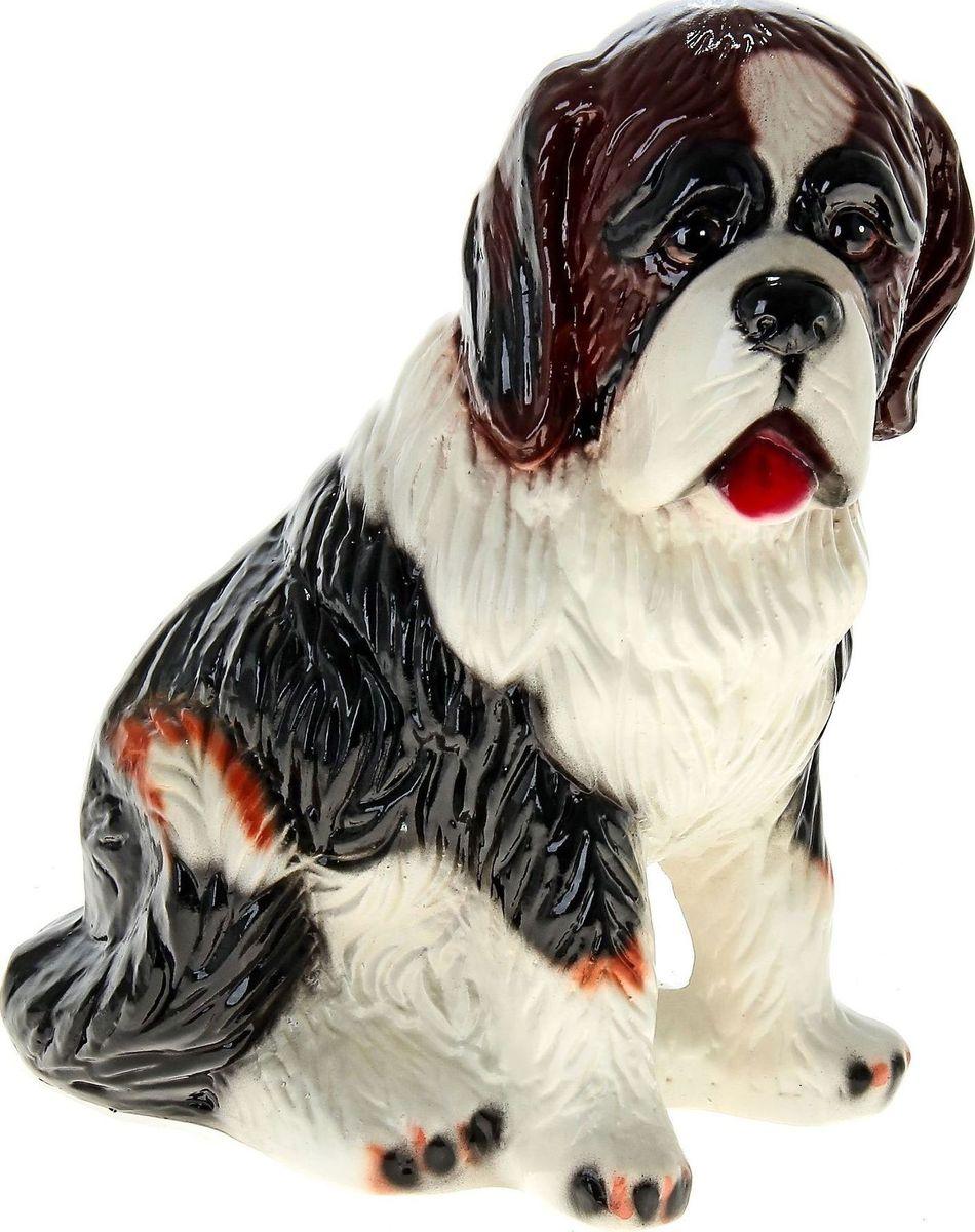"""Часто бывают срочно необходимы средства. Чтобы не попасть в неловкую ситуацию, начните откладывать! С копилкой Керамика ручной работы """"Собака Бетховен"""" у вас всегда будет сумма на """"чёрный день"""". Заведите домашнего питомца прямо на рабочем столе! Собака всегда была верным другом, помощником и защитником человека. Изделие в виде этого животного надежно сохранит ваши сбережения.Обращаем ваше внимание, что копилка является одноразовой."""