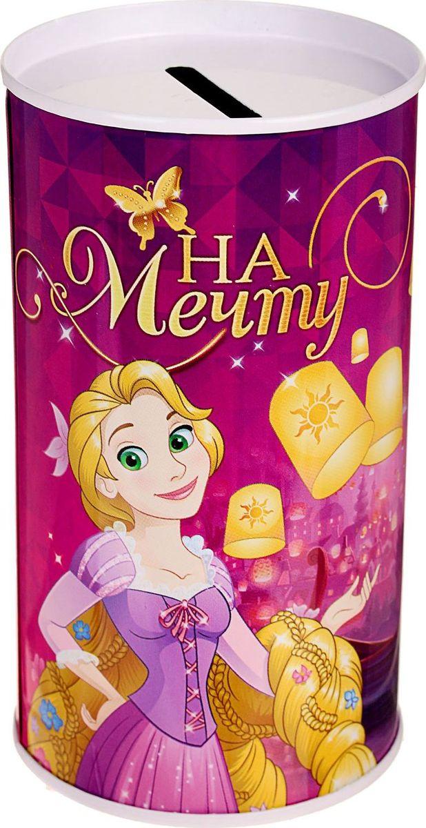 Копилка Disney Поверь в сказку. Рапунцель, 6,5 х 6,5 х 12 см1866960Копилки со знаменитыми персонажами обязательно понравятся ребёнку! Данное изделие изготовлено из лёгкого металла и весит 61 г. Изображение нанесено краской.Высота — 12 см, диаметр — 6,5 см.Обращаем ваше внимание, что копилка является одноразовой.