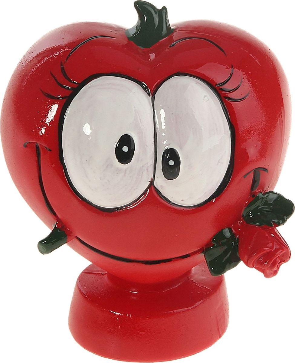 Копилка Сердечко с розой, 8,2 х 11 х 13 см906953Копилка Сердечко с розой – замечательный способ порадовать любимого человека как в День Святого Валентина, так и в будний день, если у вас возникнет желание превратить его в необычный. Оригинальная копилка станет знаком заботы и внимания, а также – пожеланием материального благополучия и процветания.Недаром с давних времен известна поговорка Копейка рубль бережет. Кто знает – быть может, именно эта милая копилка станет первым шагом на пути к осуществлению заветной мечты – крупной покупки или, например, кругосветного путешествия? Радовать любимых просто!Копилка является многоразовой, что позволит вам воспользоваться накопленными деньгами в любой момент.